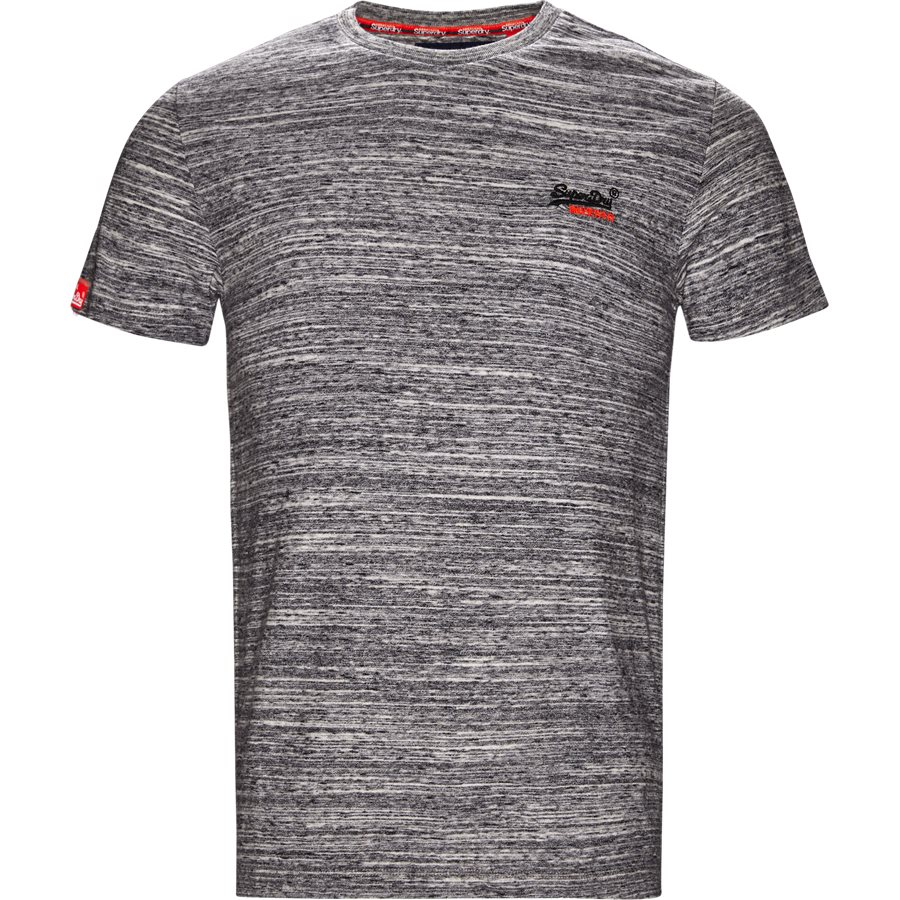 M1000 - M1000 - T-shirts - Regular - GRÅ MEL - 1